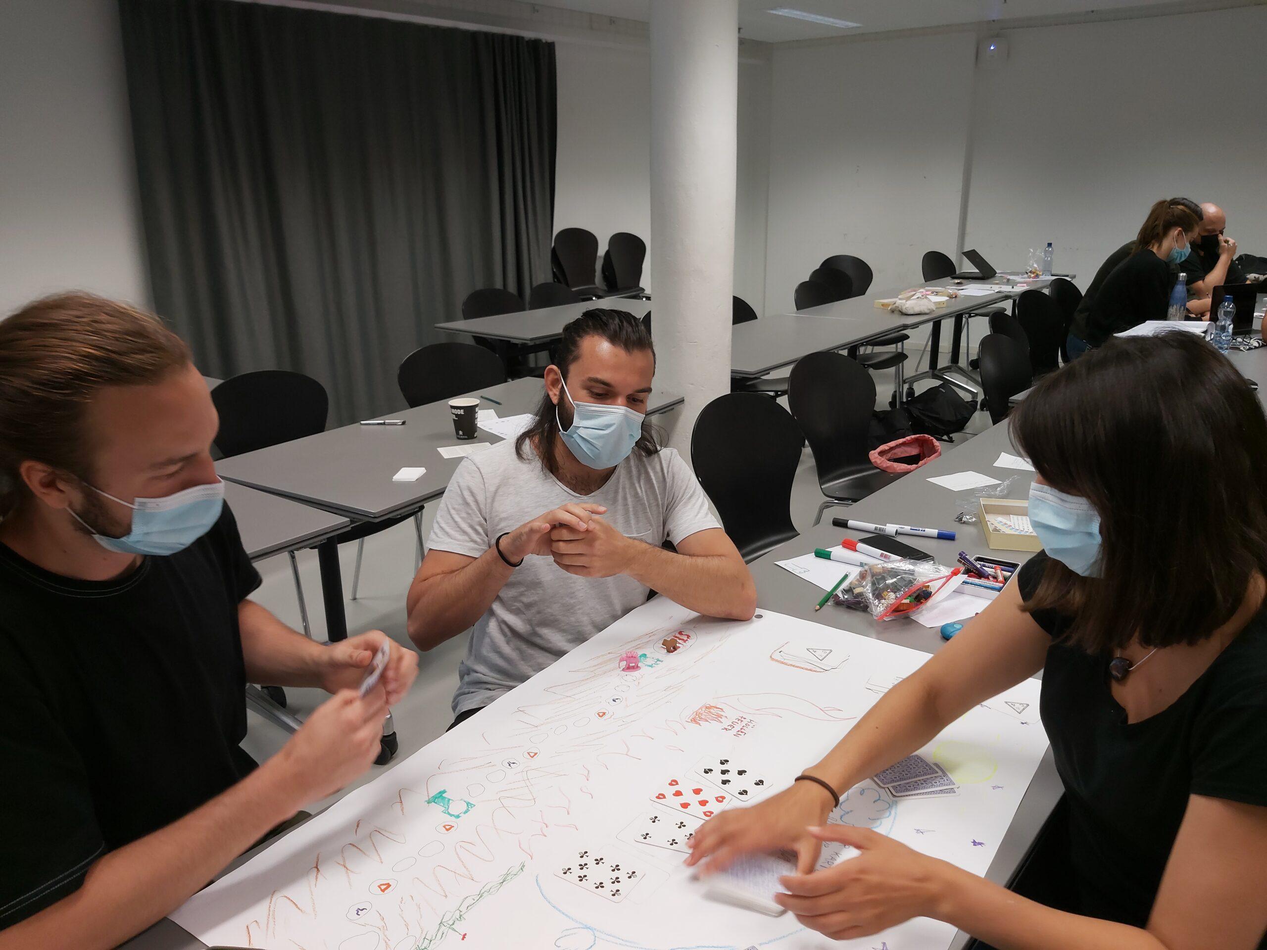 Workshop mit Psychologiestudierenden