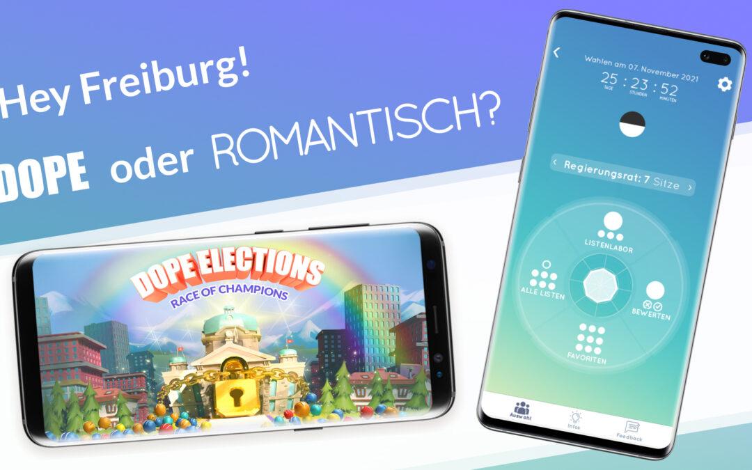 Hey Freiburg! Hier sind 2 Wahlapps